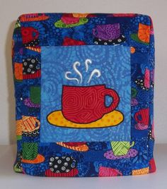 Keurig Coffee Maker Cover  Coffee Cups by PatsysPatchwork on Etsy, $38.00