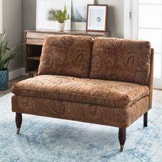 Shop for Bordeaux Nutmeg Paisley Loveseat. Get free shipping at Overstock.com - Your Online Furniture Outlet Store! Get 5% in rewards with Club O!