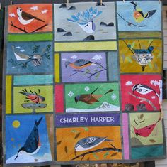 Another Charley Harper quilt