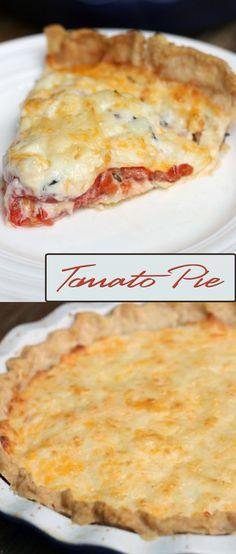 Tomato Pie                                                                                                                                                                                 More