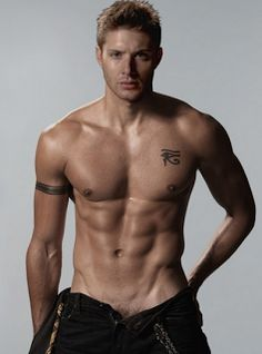Jensen Ackles. I think this is photoshop but I don't give a fuuu, I WANT him to look like this.