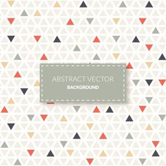 More than a million free vectors, PSD, photos and free icons. Exclusive freebies and all graphic resources that you need for your projects Geometry Pattern, Triangle Pattern, Tag Design, Pattern Design, Triangles, Drawing Course, Digital Scrapbooking Freebies, Nordic Art, Mosaic Designs