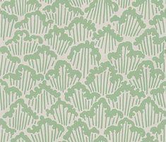 Aranami  by Farrow & Ball - Sage Green - Wallpaper : Wallpaper Direct