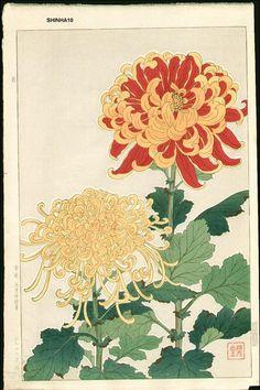 Kawarazaki Shodo, Crisantemo