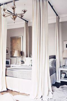 Design Inspiration : 20 Wonderfully Romantic Canopy Beds