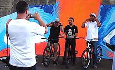 Fixed Gear & Street Art - Red Bull Ride + Style 2013 USA - TEASER (VIDEO)