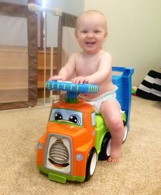 One mother of three young children's pick as the best gift ever for a one year old - the Little Tike Haul and Ride.