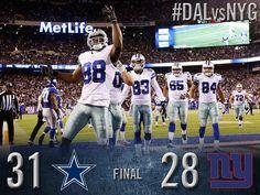 Share the WIN!! #DALvsNYG #DallasCowboys