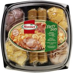 Hormel Meat, Cheese & Crackers Party Tray, 28 oz