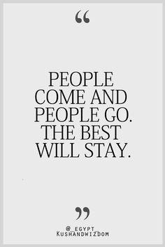 except no one stays :(