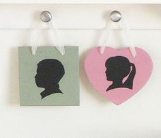 The Common Cents Home- Tehachapi CA Home Cleaning and Professional Organization: Silhouette Plaques