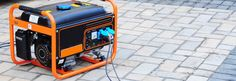 Follow generator safety tips when using a portable generator.