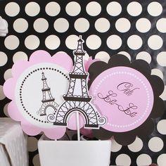 Bridal shower decoration kit