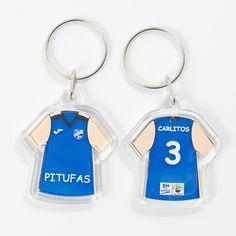 #llavero #camiseta #plastico #personalizada para #equipo #baloncesto #femenino #regalopersonalizado