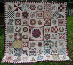 The Morrell Quilt by Carole @ Wheels on the Warrandyte Bus pattern by Di Ford quilted by Katrina's Quilting.