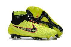 newest 5319d 5ddfa Hot Billige Nike Magista Obra FG Herre Orange Fluoriserende Grønn  Fotballsko og New Fotball Nike Online til salgs