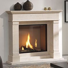 slimline gas fires with balanced flue Cream Fireplace, Inglenook Fireplace, Home Fireplace, Fireplace Remodel, Living Room With Fireplace, Fireplace Ideas, Gas Fireplaces, Cream Living Rooms, New Living Room