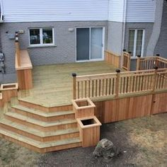 Deck Stairs Design Ideas deck stair railing design ideas see 100s of deck railing ideas httpawoodrailing Spaces Decks Design Pictures Remodel Decor And Ideas Page 49 Check Out