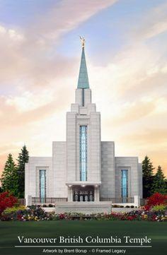 Vancouver Temple by Brent Borup