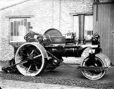 Results of conducting a search of the ViewFinder database of historic photographs of England. Antique Tractors, Vintage Tractors, Old Tractors, Antique Cars, Classic Tractor, Oxford England, English Heritage, Local History, Steam Engine