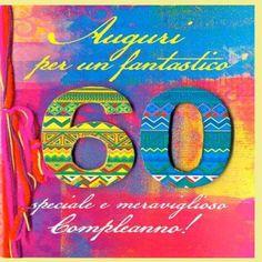 Biglietti Auguri Compleanno 60 Anni Con Mazzo Di Fiori Frasi Di