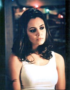 ICON:  faith @buffytheVampSlayer.     I've always loved the classic bad girl vibe this character had going