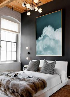 Extra Large Abstract Painting Print, Pastel Abstract Art Large, Abstract Artwork on Canvas, Large Cloud Painting, Extra Large Canvas Art - - Home Bedroom, Bedroom Decor, Bedroom Ideas, Wall Decor, Artwork For Bedroom, Bedroom Nook, Bedroom Storage, Blue Abstract Painting, Large Painting