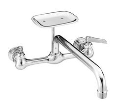 faucet Wall Mount Faucet with 8 Centers and Soap Dish stuff