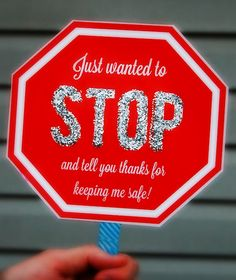 Crossing guard gift  other teacher gift ideas.