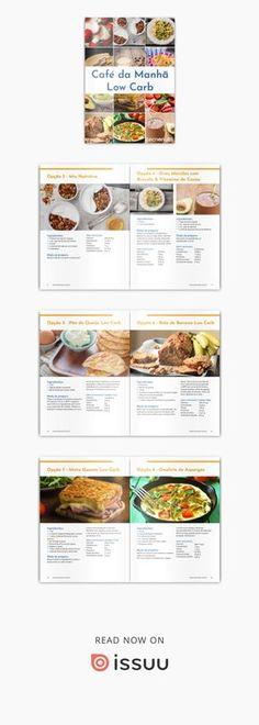 Café da Manhã Low Carb 15 receitas de café da manhã deliciosas e práticas.