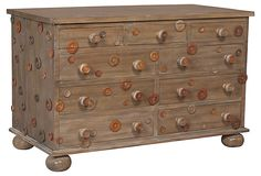 Monticello Chest on OneKingsLane.com  (It's more cool & funky than pretty, but I like it.)
