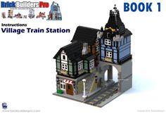 Village Train Station PDF Lego Instructions