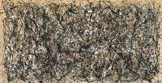 One: Number 31, Jackson #Pollock, 1950