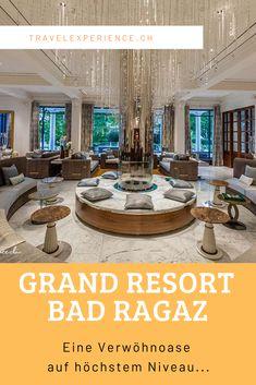 Edel wohnen, fantastisch essen und in gesundem Thermalwasser planschen – das haben wir während unseres Aufenthaltes im Grand Hotel Quellenhof erlebt, der zum Grand Resort Bad Ragaz gehört. Bad Ragaz, Hotels, Fresh, Viajes, Homes