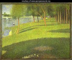 The Island of La Grande Jatte - Georges Seurat - www.georgesseurat.org