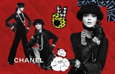 The Incongruous: Chanel F/W 2016 Advertising