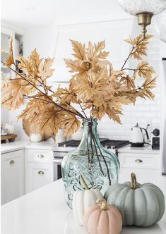 Ideas with Muted Fall Colors Decorating Ideas with Muted Fall Color. Ideas with Muted Fall Colors Decorating Ideas with Muted Fall Color. Decorating Ideas with Muted Fall Colors Thanksgiving Decorations, Seasonal Decor, Holiday Decor, Autumn Decorations, Thanksgiving Table Settings, Diy Thanksgiving, House Decorations, Halloween Decorations, Christmas Decorations