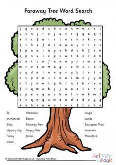 Faraway Tree Word Search