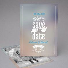 Valentin | Save the Date Postkarte