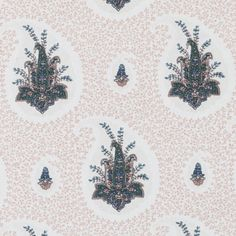 Pattern #:21075-4 Pattern Name: ZULLA, PINK Book #2937 : Tilton Fenwick Prints Book #2935 - Prussian, Spruce: Tilton Fenwick Collection