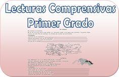 Compartimos en materialeducativo.org este maravilloso material el cual contiene varias lecturas comprensivas dirigidas a alumnos de primer grado de primaria,