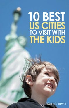 Niagara Falls is second on the list! From Orlando to L. cities to travel with kids. Traveling With Baby, Travel With Kids, Family Travel, Summer Travel, Summer Fun, Family Vacation Destinations, Vacation Trips, Travel Destinations, Vacation Ideas