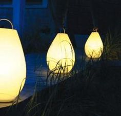 Oxo Luau portable LED indoor/outdoor lights...nice touch to summer outdoor living!