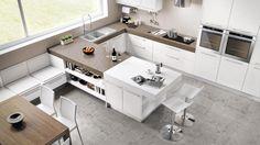Cucine moderne ad angolo a padova. trova la tua cucina angolare