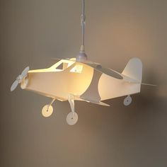 Kids Lighting Airplane Ceiling Lamp In Fixtures The Land Of Nod