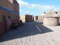 RHU's used to replicate village.