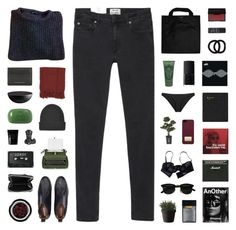 """""""Odette"""" by nauditaolivia ❤ liked on Polyvore featuring American Apparel, Black+Blum, Surya, Acne Studios, John Lewis, NARS Cosmetics, Sisley Paris, Cleanse by Lauren Napier, AT-A-GLANCE and Burberry"""