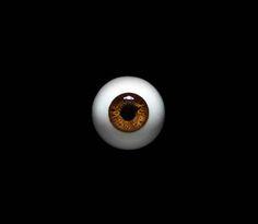 IN STOCK 14mm bjd eyes Dark Hazel Bjd eyes