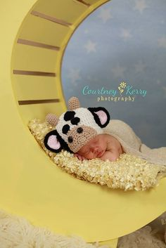Newborn Cow Hat  Free Shipping in the USA by RuthAndEsther on Etsy, $35.00  Thank you Courtney Kerry Photography for the awesome photo! https://www.facebook.com/courtneykerryphotography