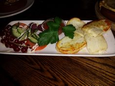 The Rake Inn, Littleborough - Haloumi cooked in a Cuppone oven.